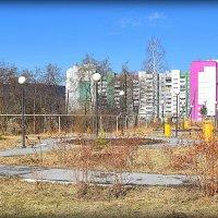 Мой город в Апреле. :: Александр Шимохин