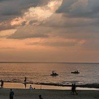 Закат на море :: Vanda Kremer