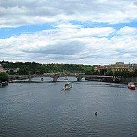Чехия. Прага. На реке Втлава. :: Владимир Драгунский