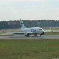 "Посадка Боинга 737 а/к ""ЮТэйр"" :: Alexey YakovLev"