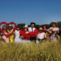 Свадьба в шляпах! :: Елена Салтыкова(Прохорова)