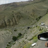 Живописная дорога из долины Нубра, Ладак :: Evgeni Pa