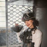 Steampunk girl :: Olga Burmistrova