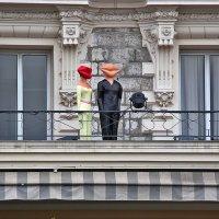 Балкон отеля Ле Роял :: Nina Karyuk