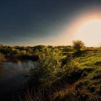 вечер на реке :: Евгений Ромащенко