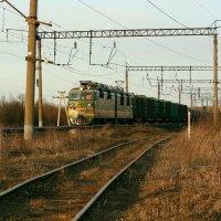 Чух-чух, мчится поезд во весь дух ! :: Ирина