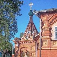Воскресенская церковь(фрагмент) :: Галина Каюмова