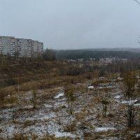 Снежное утро. Окраина :: Александр Янкин