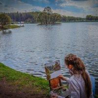 Юная художница :: Rassol Risk