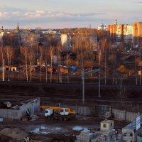 Вологда. Панорама вечернего города. :: Татьяна Копосова