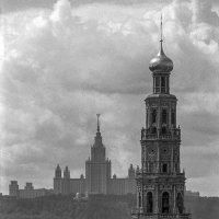 Москва, вид на МГУ с Б. Пироговской улицы. :: Игорь Олегович Кравченко