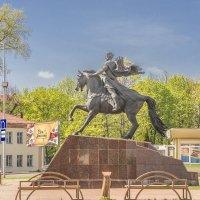 Полоцк. Памятник князю Всеславу Чародею :: bajguz igor