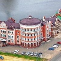 Дома у реки :: Галина Каюмова
