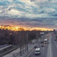 закат в городе :: cfysx