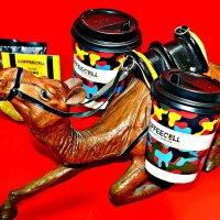 Верблюд и кофе. :: Михаил Столяров