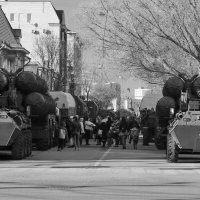 военная боевая техника готова к параду :: Ирина ***