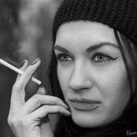 Чёрно-белая грусть :: Наталия Соколова
