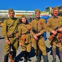 """Защитники наши(9 мая на ярмарке""""Юнона"""")... :: Sergey Gordoff"""