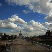 Пейзаж территории ВДНХ :: Ольга (crim41evp)