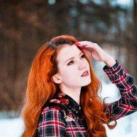Рыжеволосая краса :: Надежда Журавкова