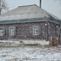 Хлопьями падал снег... :: Светлана Рябова-Шатунова