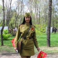 Девушка солдат :: Марина Таврова