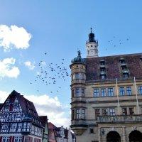 Ратуша  на центральной  площади  Ротенбурга на Таубере..Германия  ... :: backareva.irina Бакарева