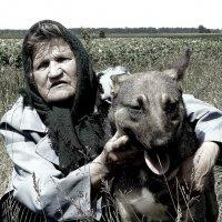Люди села   Дама с собачкой :: олег свирский