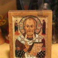Икона Святого Николая (Никола Липный), 1294г. :: ZNatasha -
