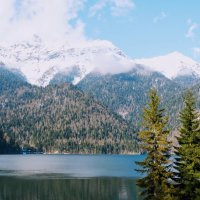 На озере Рица :: Александр Бойченко