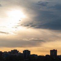 Иркутск закат :: Константин Чебыкин