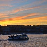 Закат над Дунаем :: Татьяна Ларионова