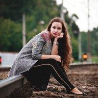 На железной дороге :: Надежда Журавкова
