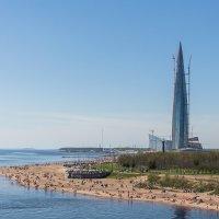 Питерский пляж весной :: VL