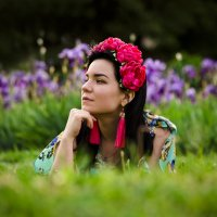 На ирисовой поляне :: Татьяна Евдокимова