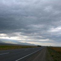 Грозовое небо злится-злится, угрожающе грохочет и гремит. :: Anna Gornostayeva