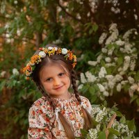Девочка с открытки :: Каролина Савельева