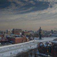 Москва. Вид со смотровой площадки Храма Христа Спасителя.3. :: Андрей Ванин