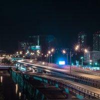 Огни ночного города :: Сергей Шруба