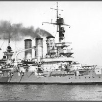 "German battleship ""SMS Hessen"". :: Александр"