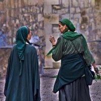 Иерусалим и его жители-разговор. :: Shmual Hava Retro
