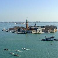 Венеция, остров Сан Джорджо - Маджоре :: Lüdmila Bosova (infra-sound)