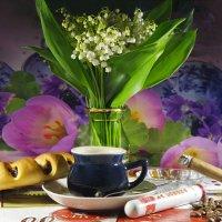 В дождливое майское утро горячий душ, чашечка, кофе, сигара и помечтать..:) :: Андрей Заломленков