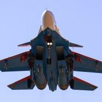 Су-30СМ заход на посадку :: Anna Yurgenson