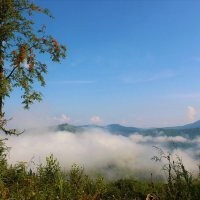Наползающий туман :: Сергей Чиняев