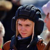 Юный защитник. :: Лариса Красноперова