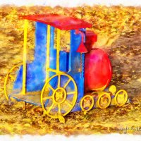 Детская колесница. :: Михаил Николаев