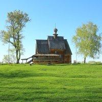 Суздальский кремль .Деревянная Никольская церковь :: ninell nikitina