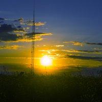 Закат Солнца. :: Игорь