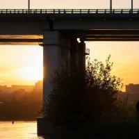 Город на реке Ангара :: Константин Чебыкин